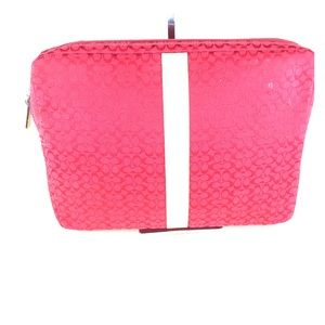 Coach briefcase laptop bag